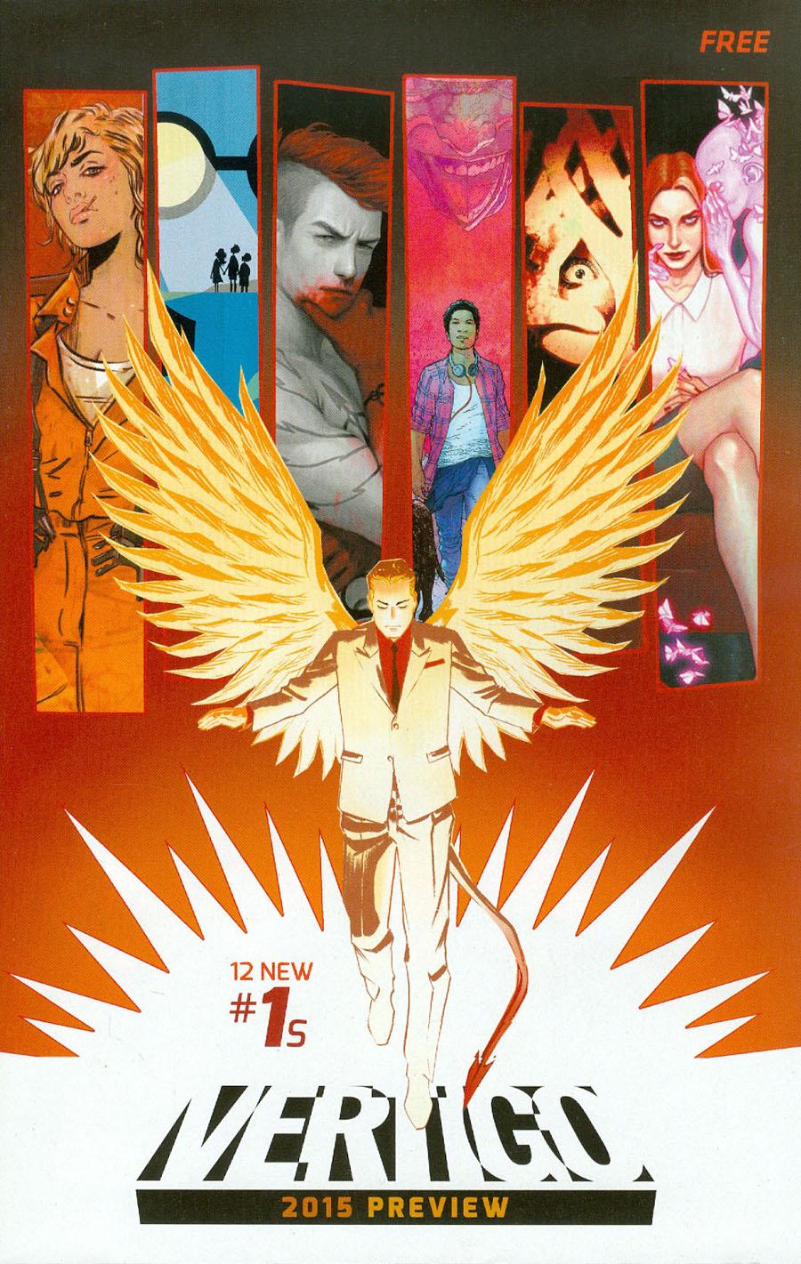 Vertigo 2015 Preview Book