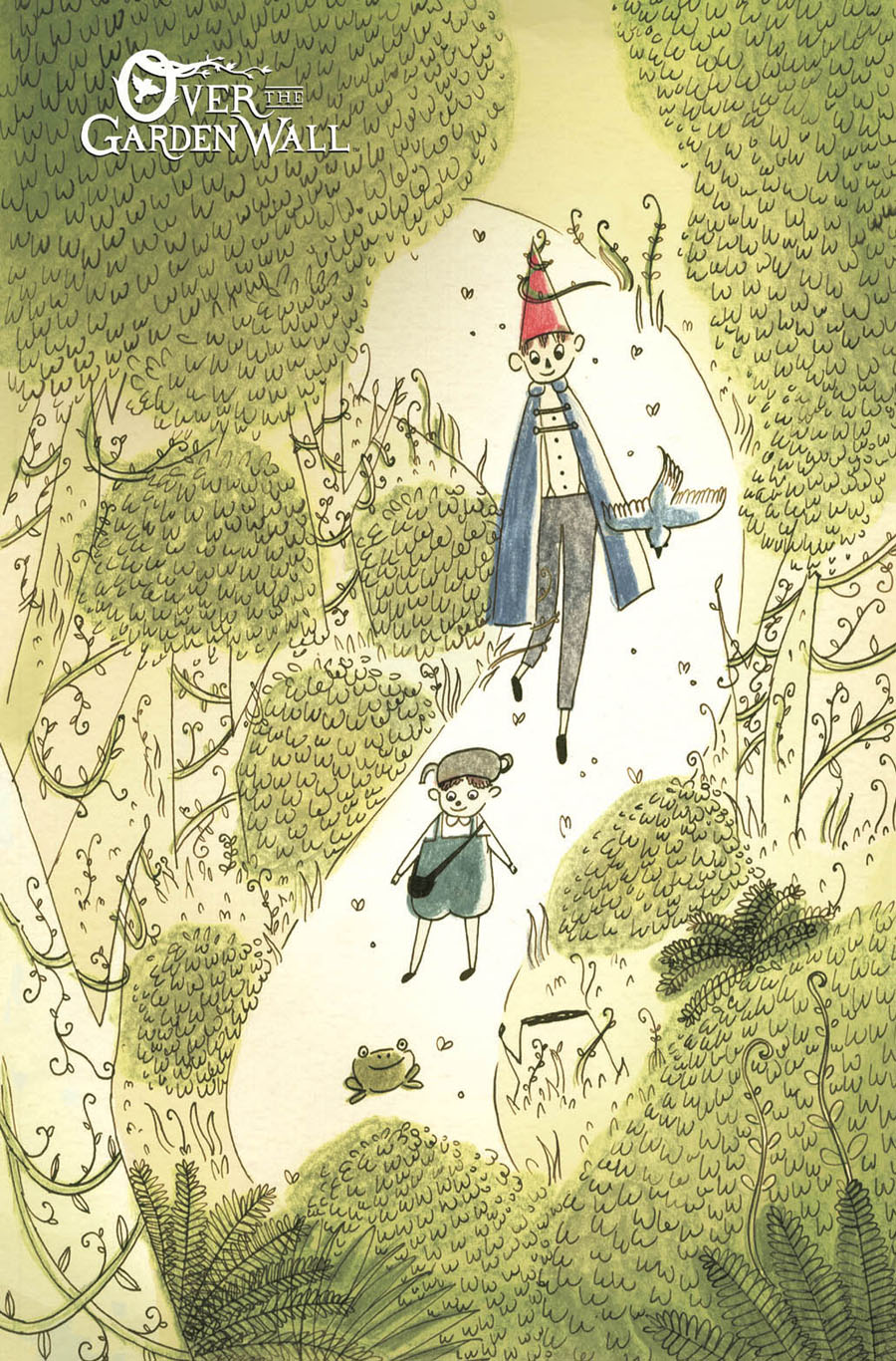 Over The Garden Wall #2 Cover C Incentive Chelsea OByrne Virgin Variant Cover