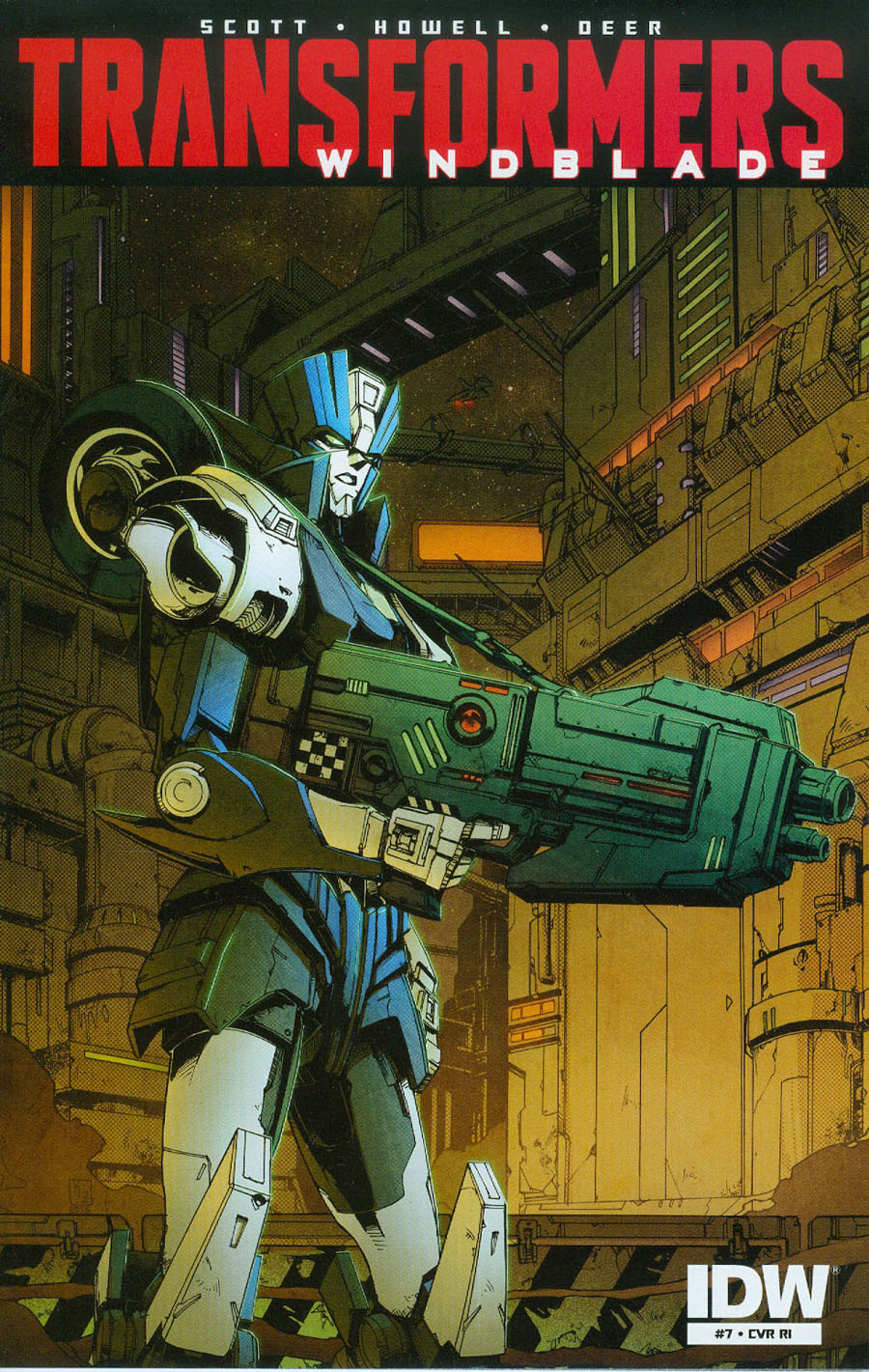 Transformers Windblade Vol 2 #7 Cover C Incentive Kei Zama Variant Cover