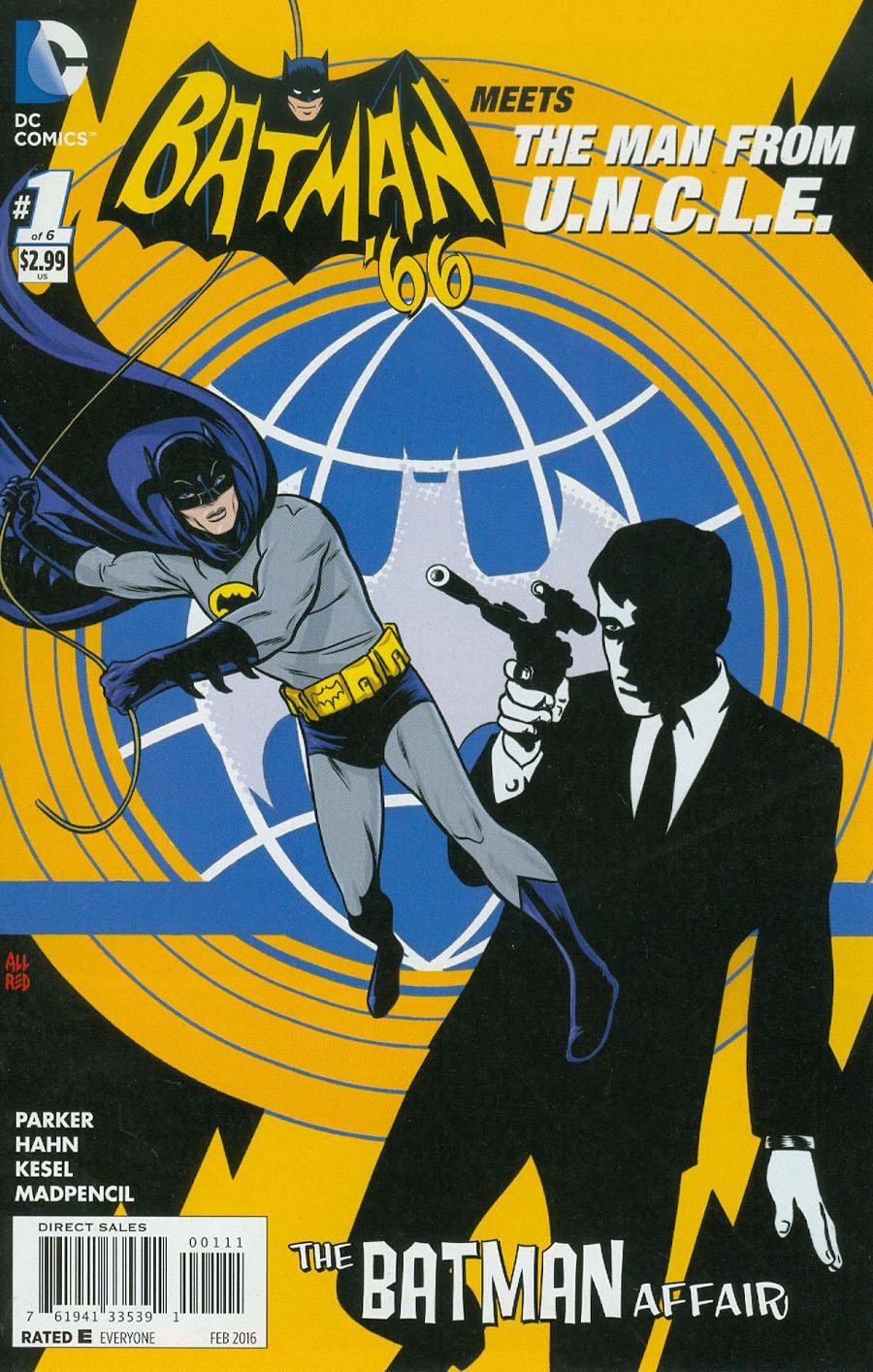 Batman 66 Meets The Man From U.N.C.L.E. #1 Cover A Regular Michael Allred Cover
