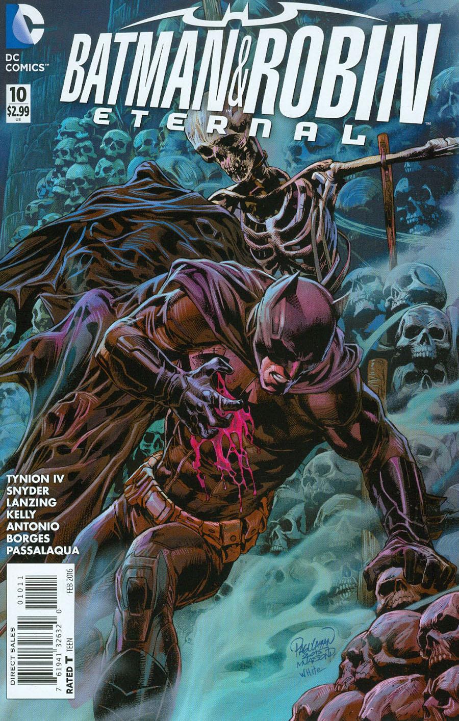 Batman And Robin Eternal #10
