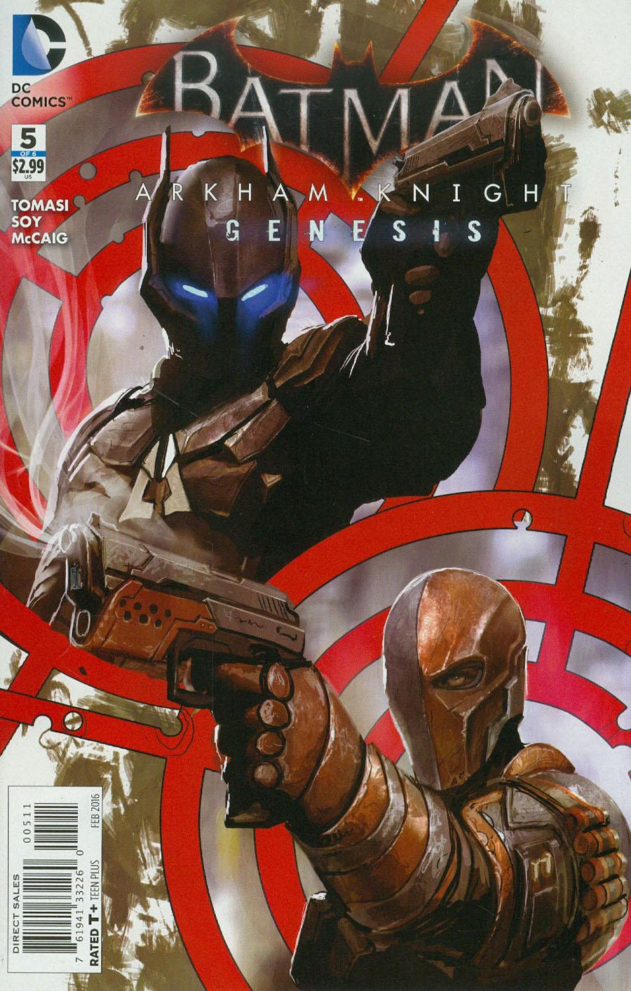Batman Arkham Knight Genesis #5
