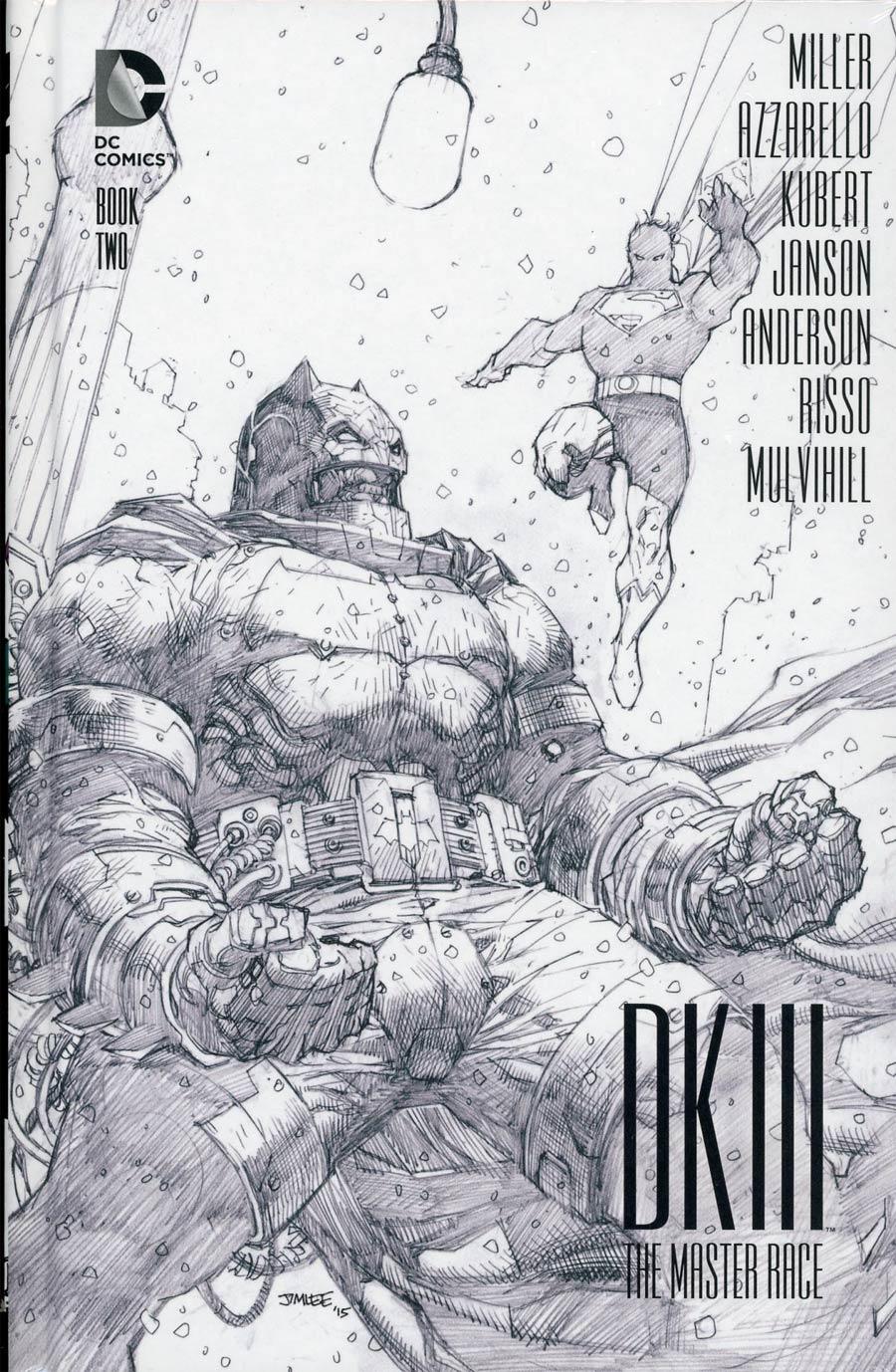 Dark Knight III The Master Race #2 Cover E Collectors Edition HC