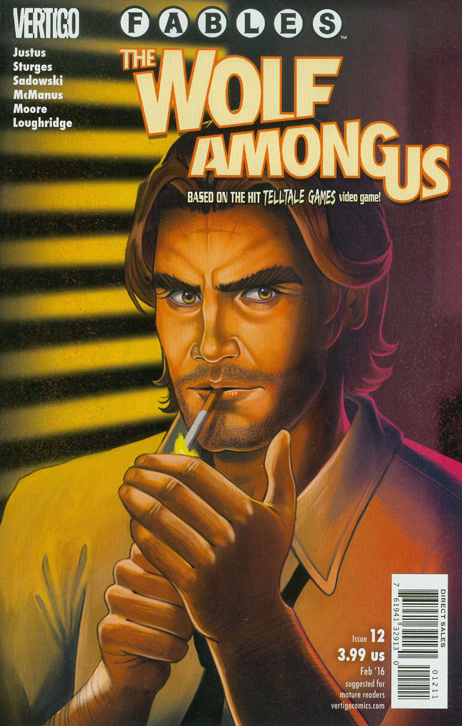 Fables The Wolf Among Us #12