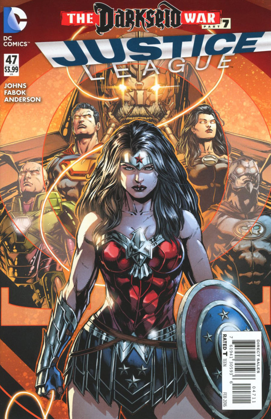 Justice League Vol 2 #47 Cover A Regular Jason Fabok Cover