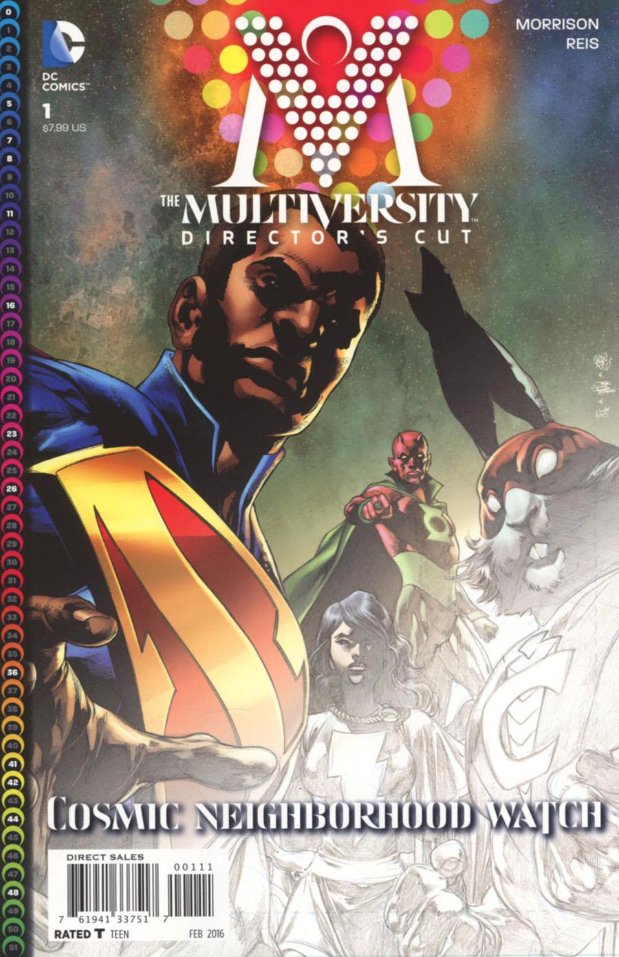 Multiversity #1 & #2 Directors Cut