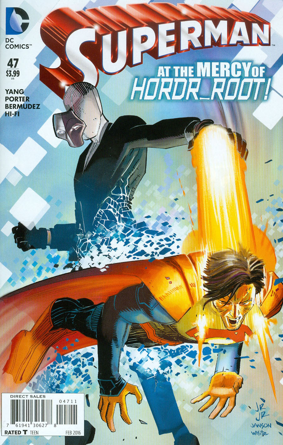 Superman Vol 4 #47 Cover A Regular John Romita Jr Cover