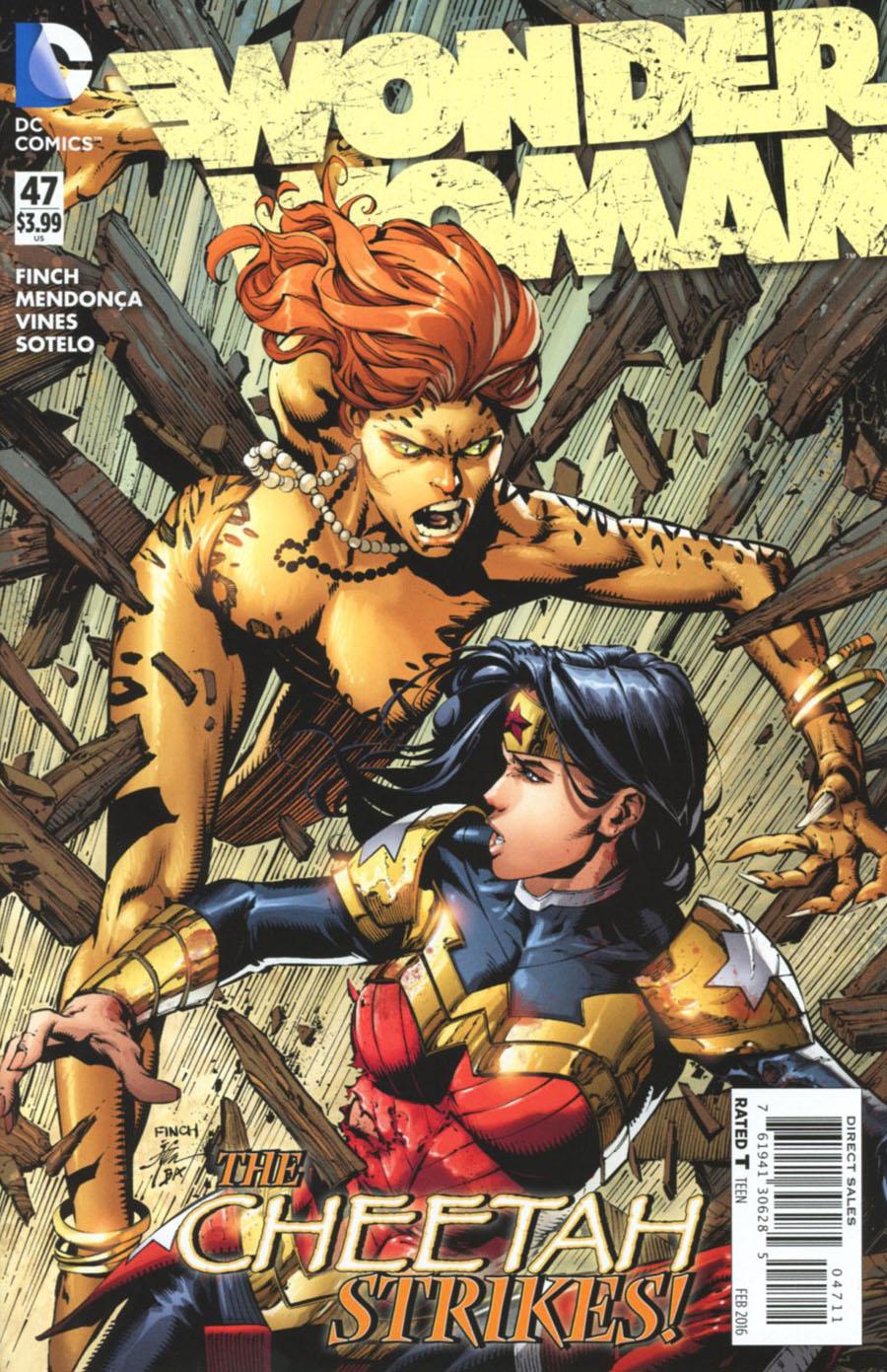 Wonder Woman Vol 4 #47 Cover A Regular David Finch Cover
