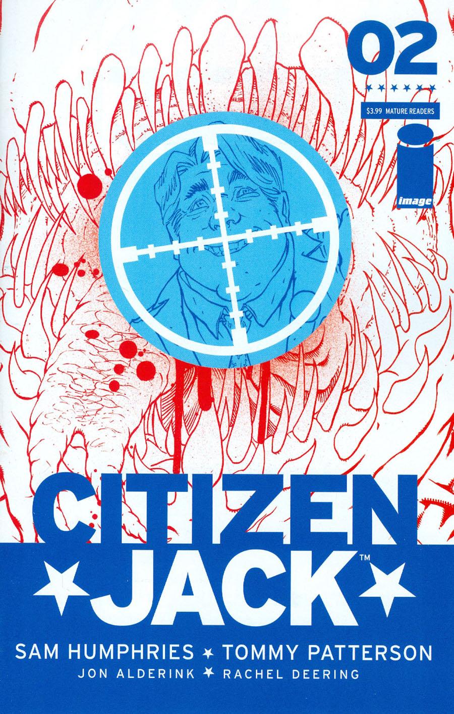 Citizen Jack #2 Cover A Tommy Patterson