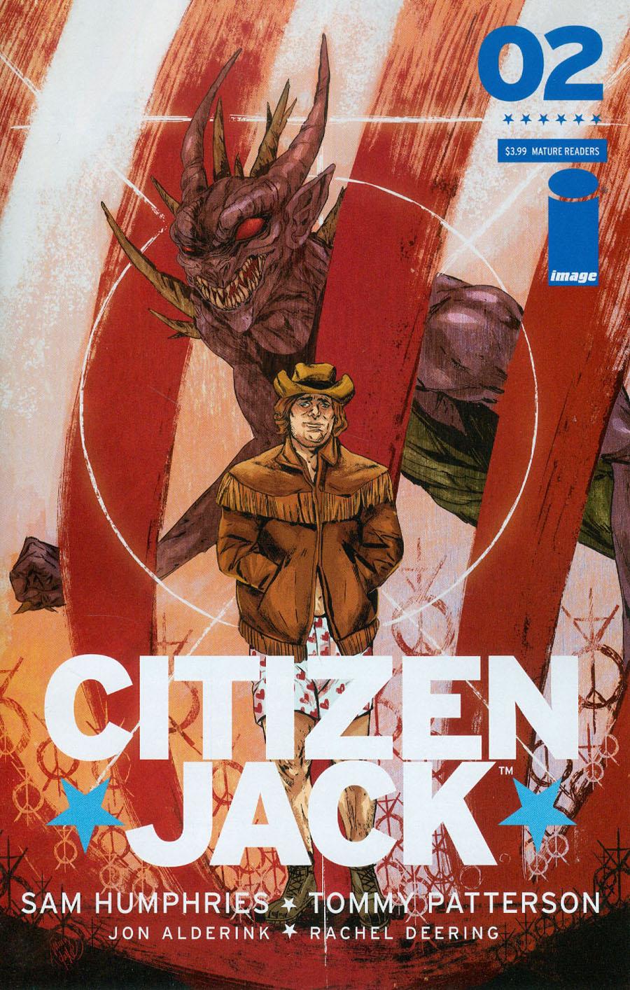Citizen Jack #2 Cover B Ming Doyle
