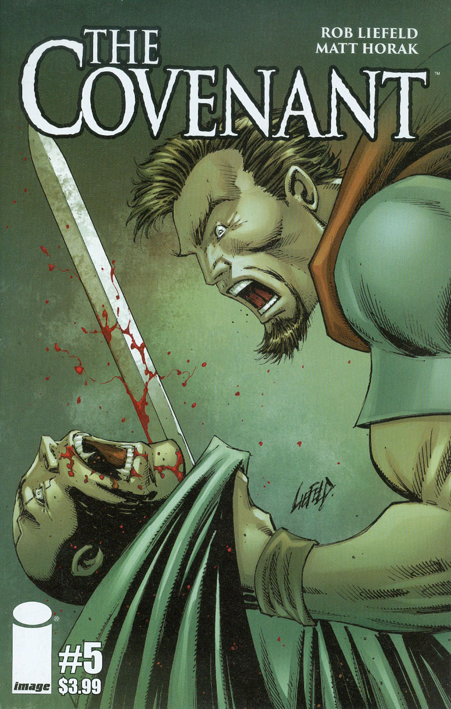 Covenant #5 Cover A Rob Liefeld