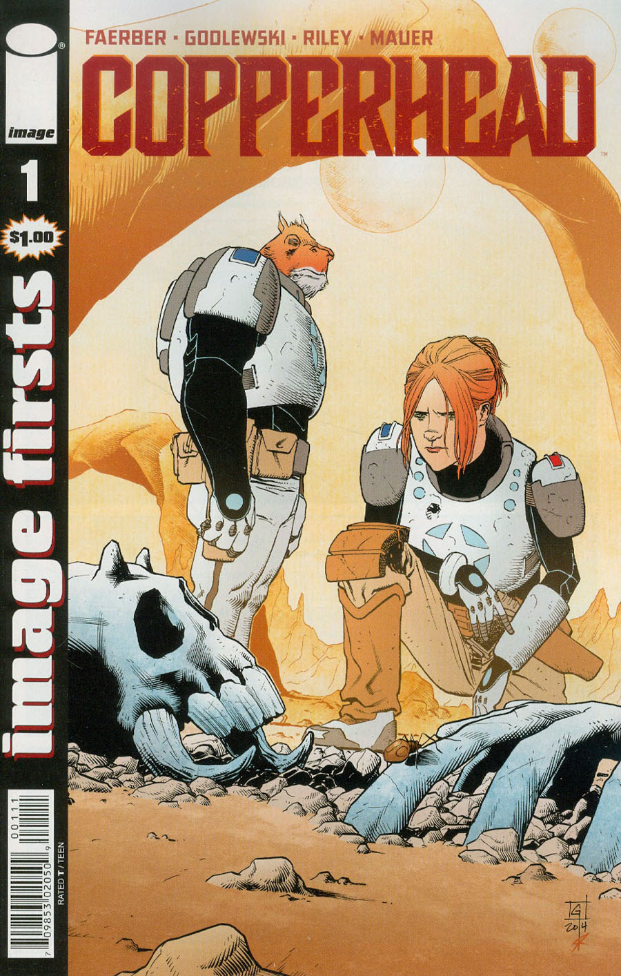 Image Firsts Copperhead #1