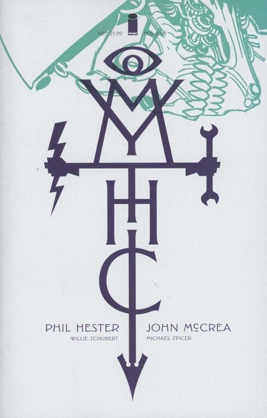 Mythic #7 Cover A John McCrea