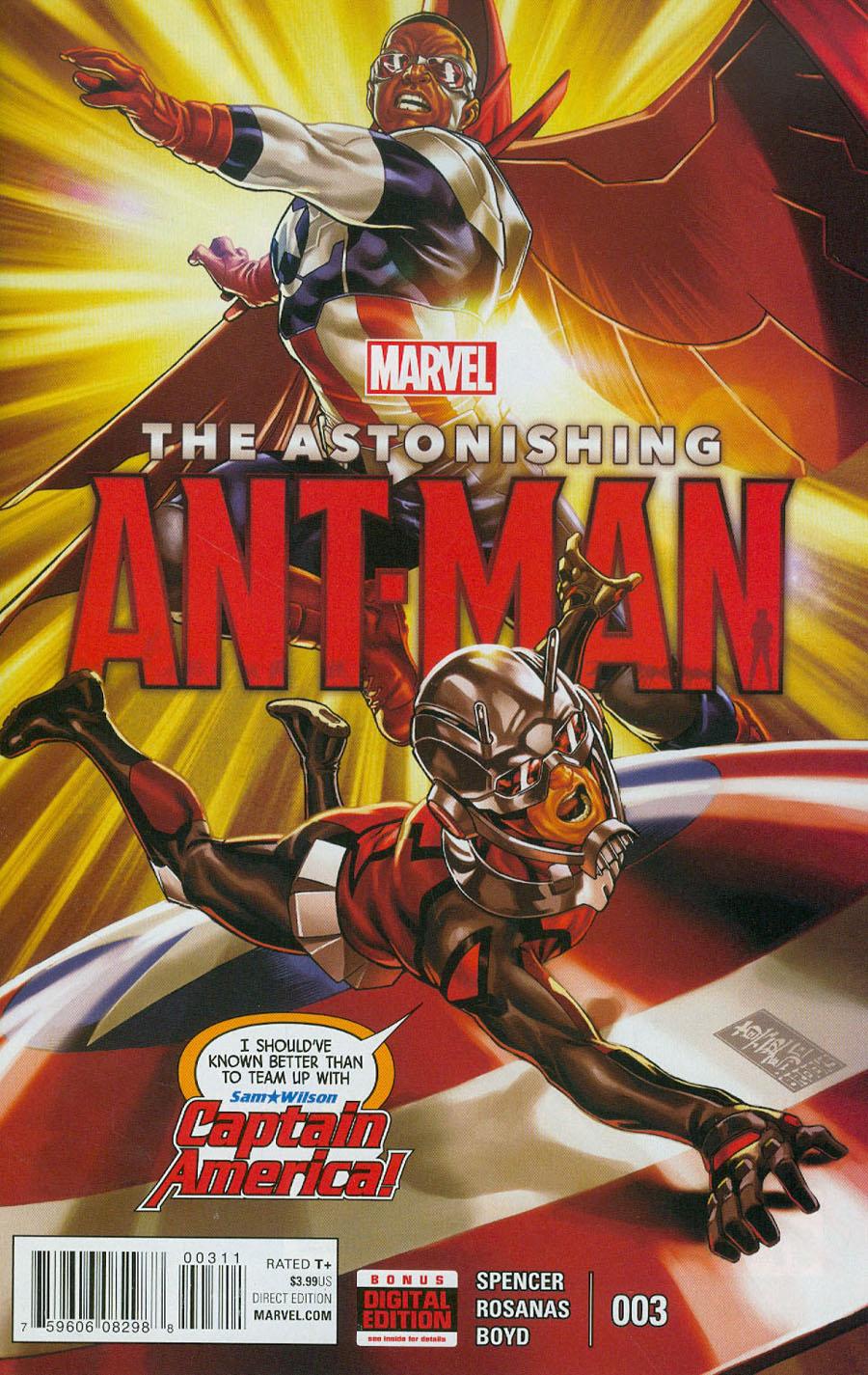 Astonishing Ant-Man #3 Cover A 1st Ptg Regular Mark Brooks Cover