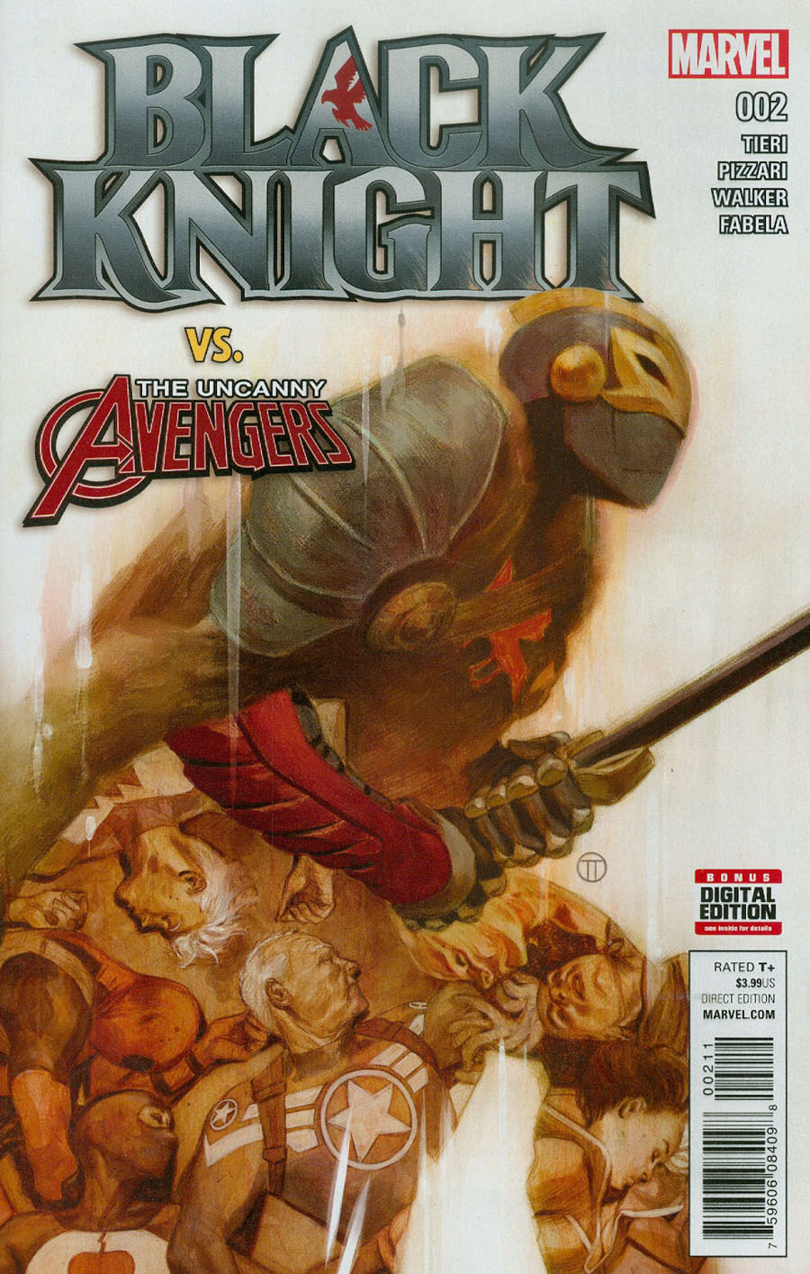 Black Knight Vol 4 #2 Cover A Regular Julian Totino Tedesco Cover