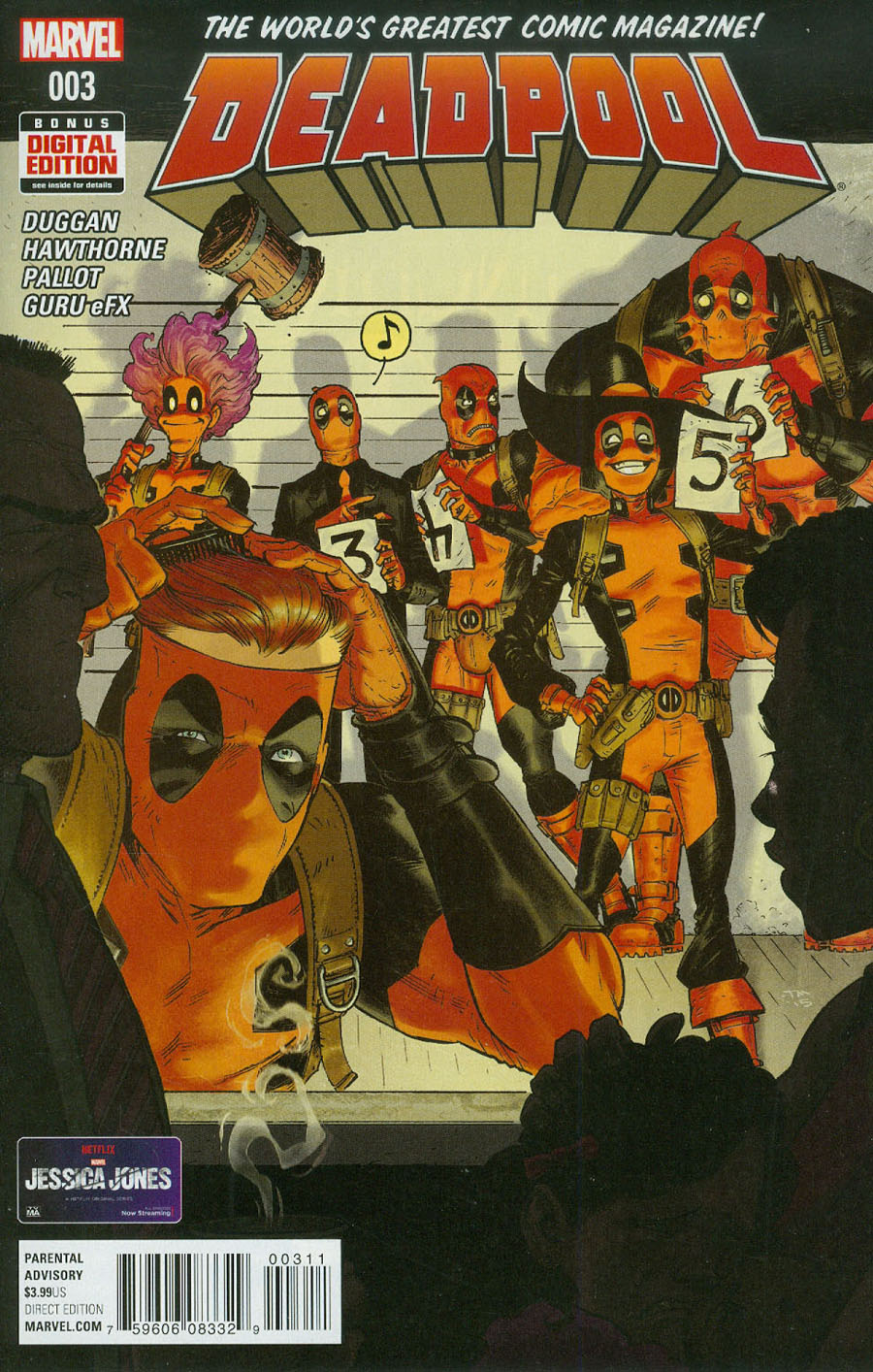 Deadpool Vol 5 #3 Cover A 1st Ptg Regular Tony Moore Cover
