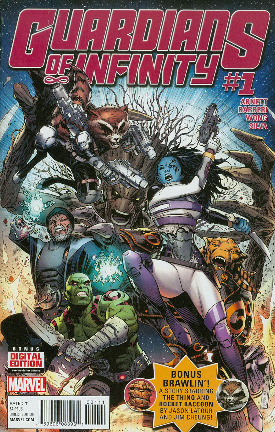 Guardians Of Infinity #1 Cover A Regular Jim Cheung Cover