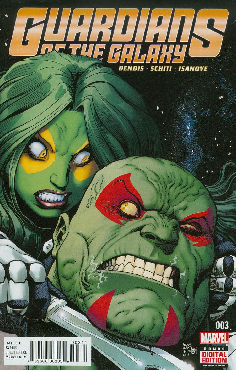 Guardians Of The Galaxy Vol 4 #3 Cover A 1st Ptg Regular Arthur Adams Cover