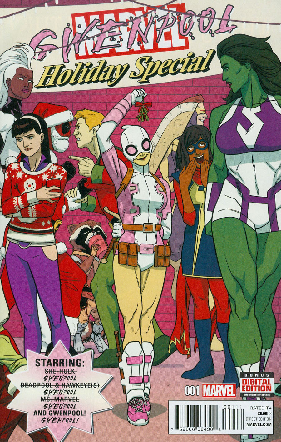 Gwenpool Special #1 Cover A Regular Kris Anka Cover
