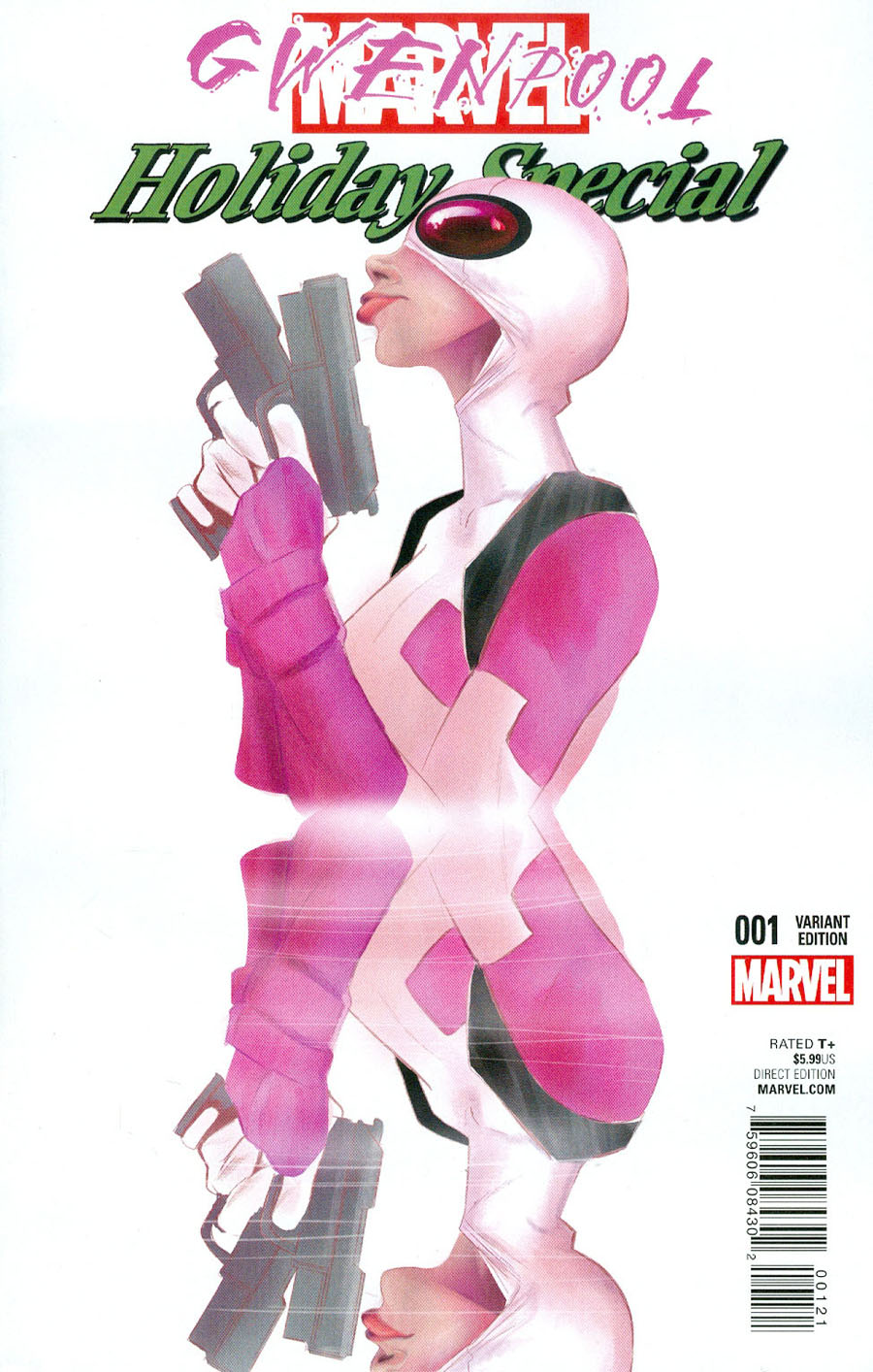 Gwenpool Special #1 Cover C Variant Robbi Rodriguez Gwenpool Cover