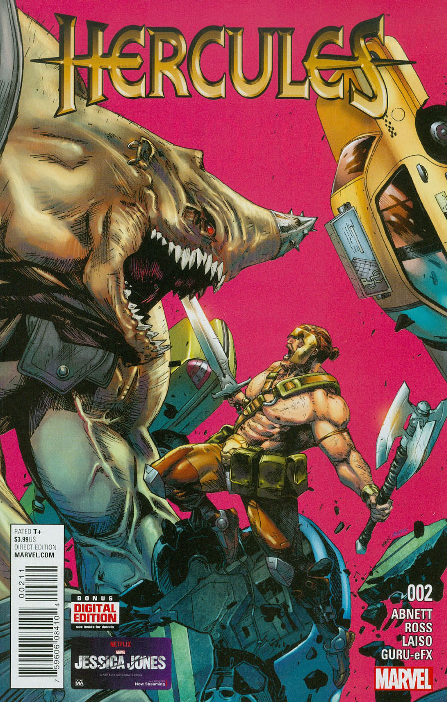 Hercules Vol 4 #2 Cover A 1st Ptg Regular Clay Mann Cover