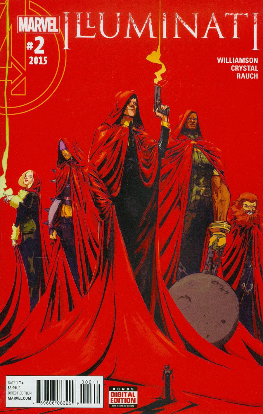 Illuminati #2 Cover A Regular Riley Rossmo Cover