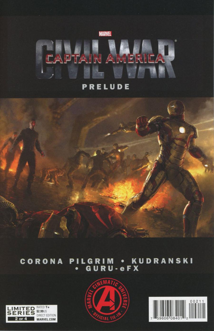 Marvels Captain America Civil War Prelude #2