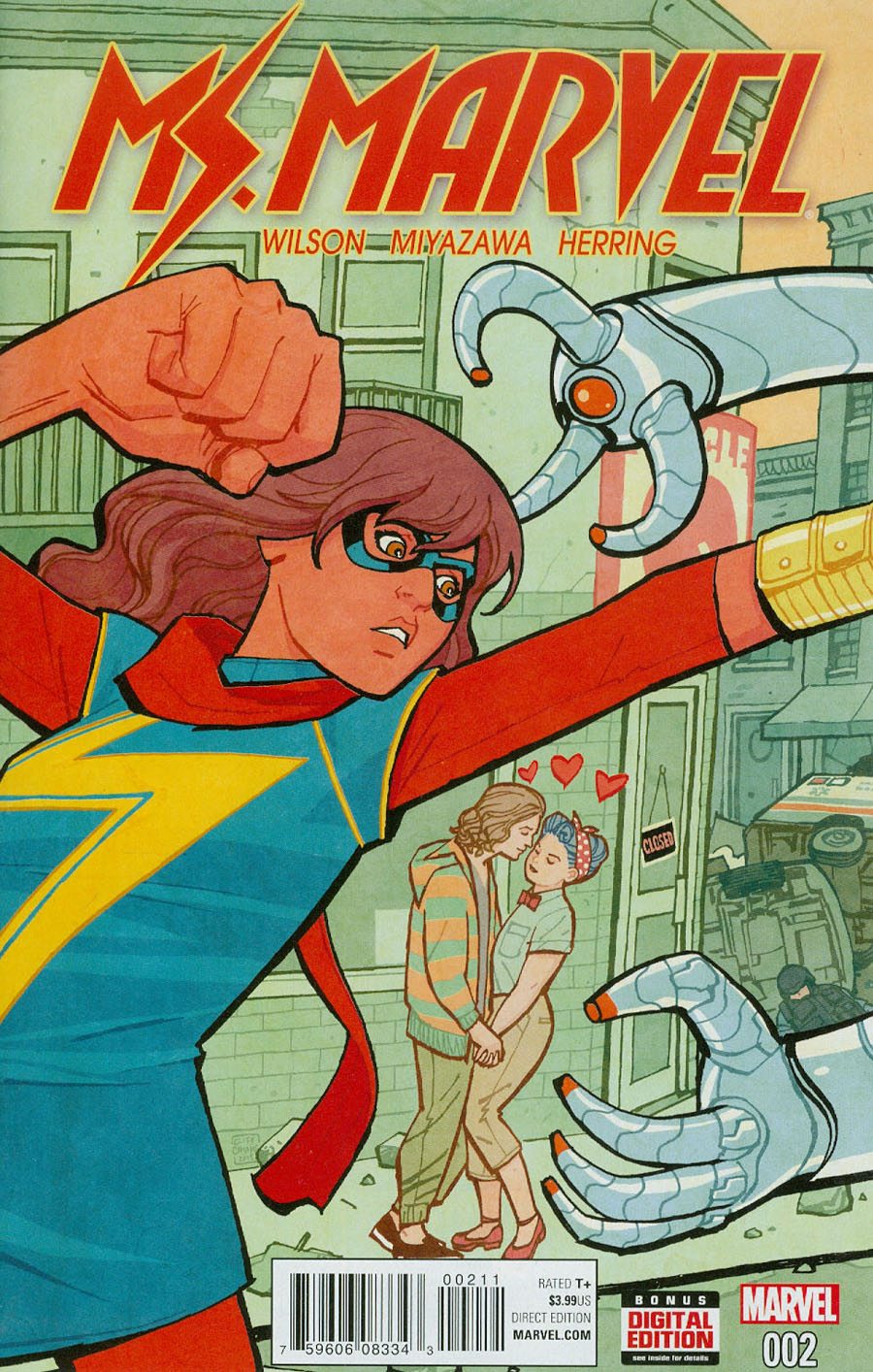 Ms Marvel Vol 4 #2 Cover A Regular Cliff Chiang Cover