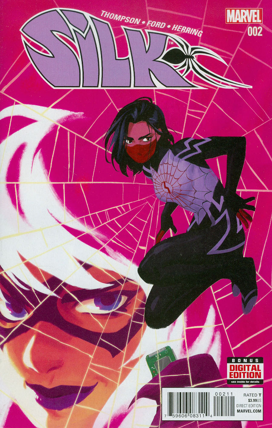 Silk Vol 2 #2 Cover A 1st Ptg Regular Helen Chen Cover