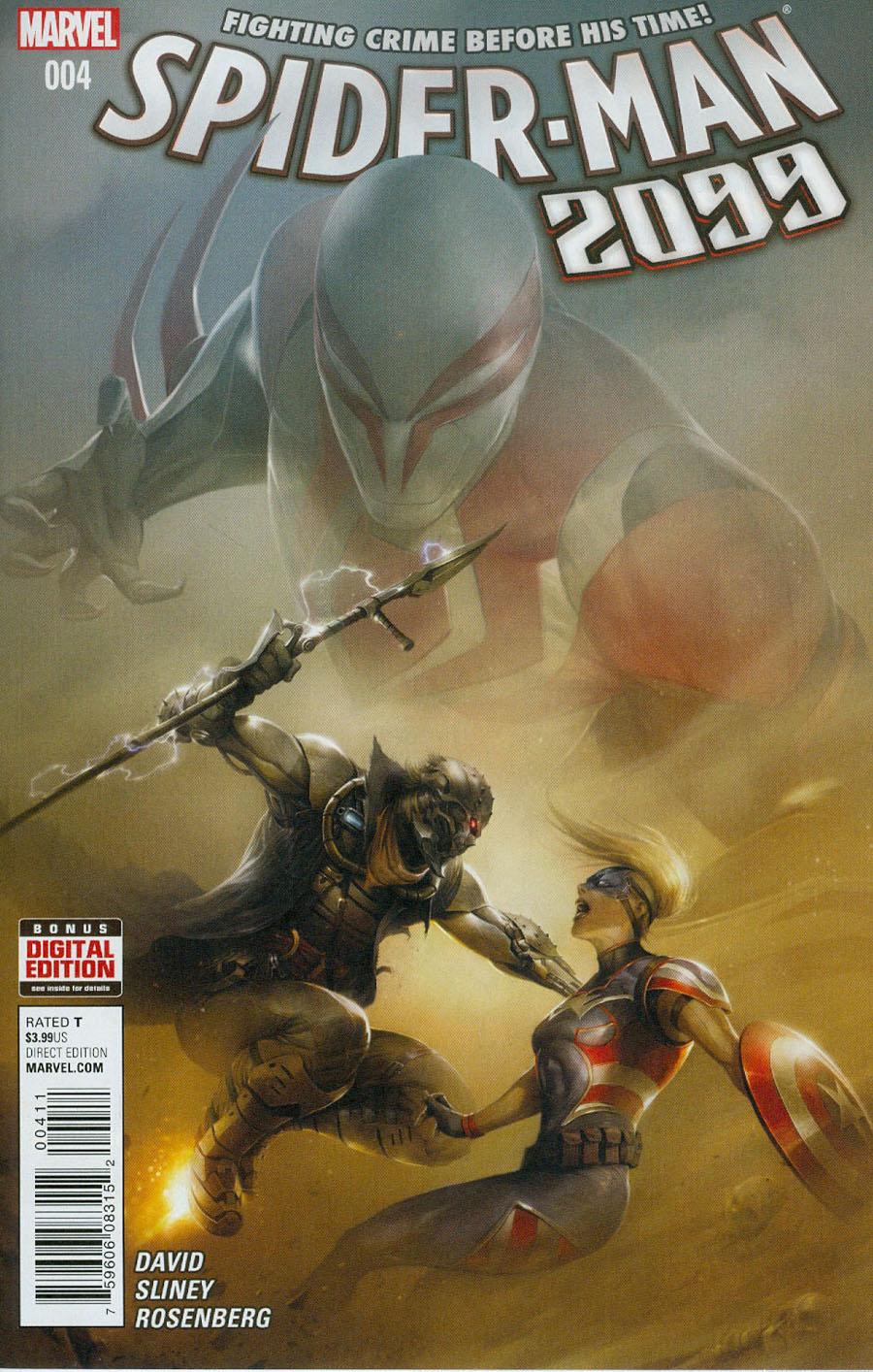 Spider-Man 2099 Vol 3 #4 Cover A Regular Francesco Mattina Cover