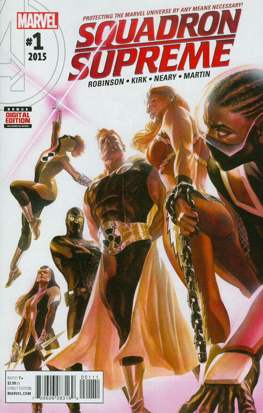 Squadron Supreme Vol 4 #1 Cover A 1st Ptg Regular Alex Ross Cover