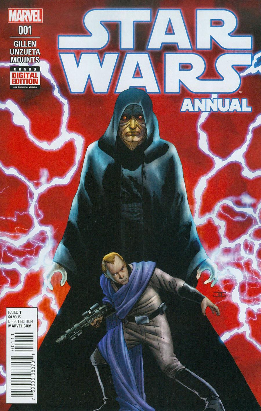 Star Wars Vol 4 Annual #1 Cover A Regular John Cassaday Cover