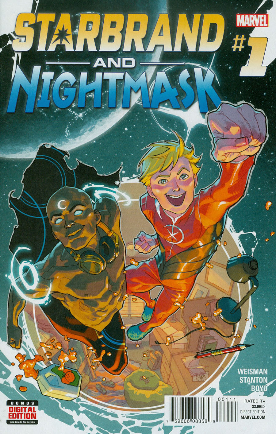 Starbrand And Nightmask #1 Cover A Regular Yasmine Putri Cover