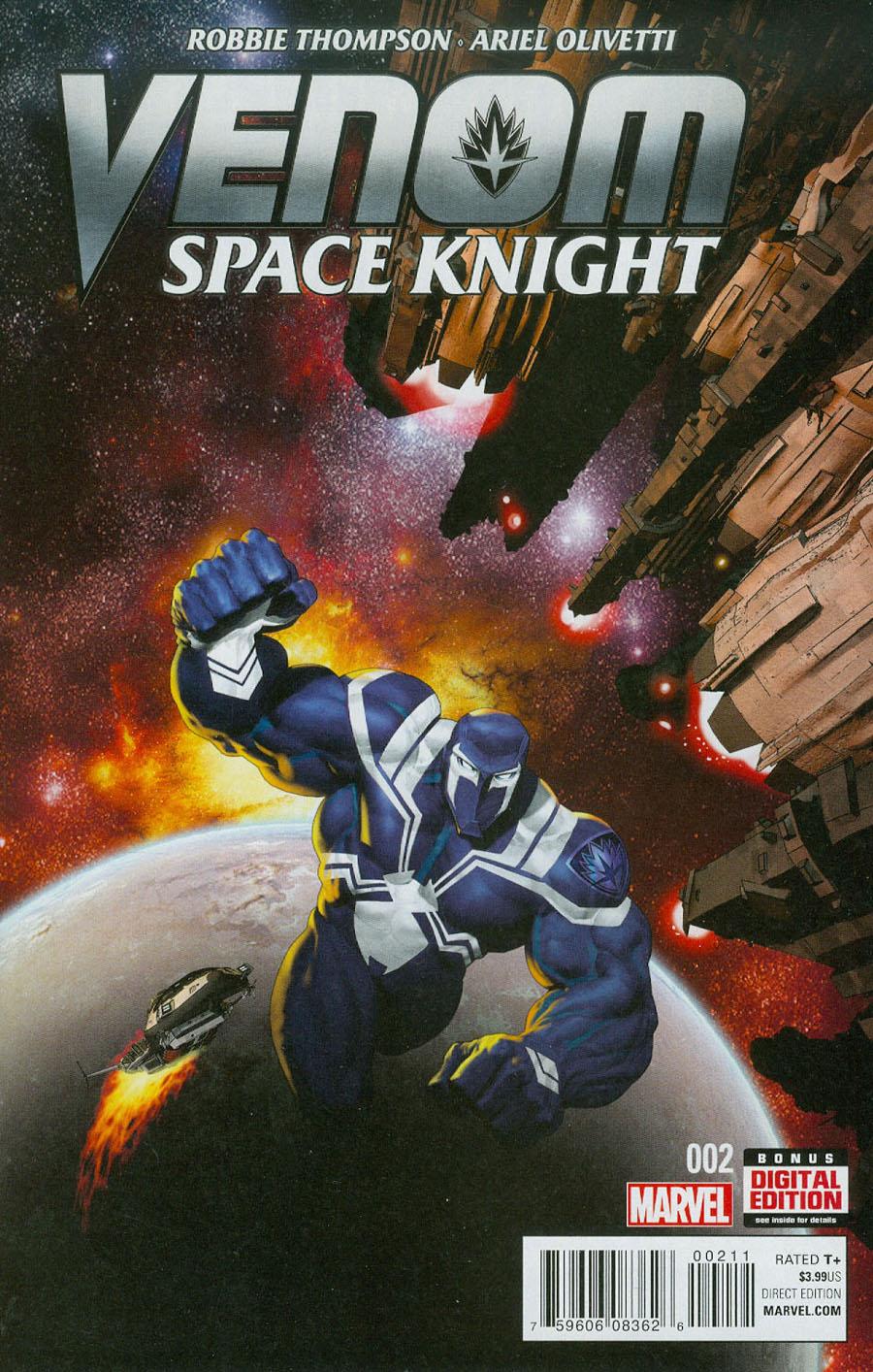 Venom Space Knight #2 Cover A Regular Ariel Olivetti Cover