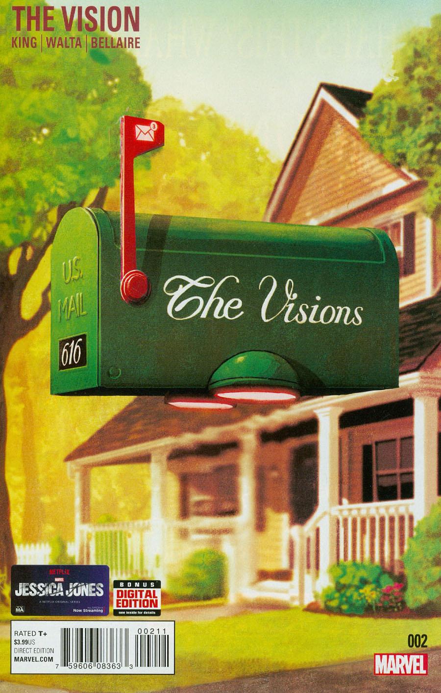 Vision Vol 2 #2 Cover A Regular Mike Del Mundo Cover