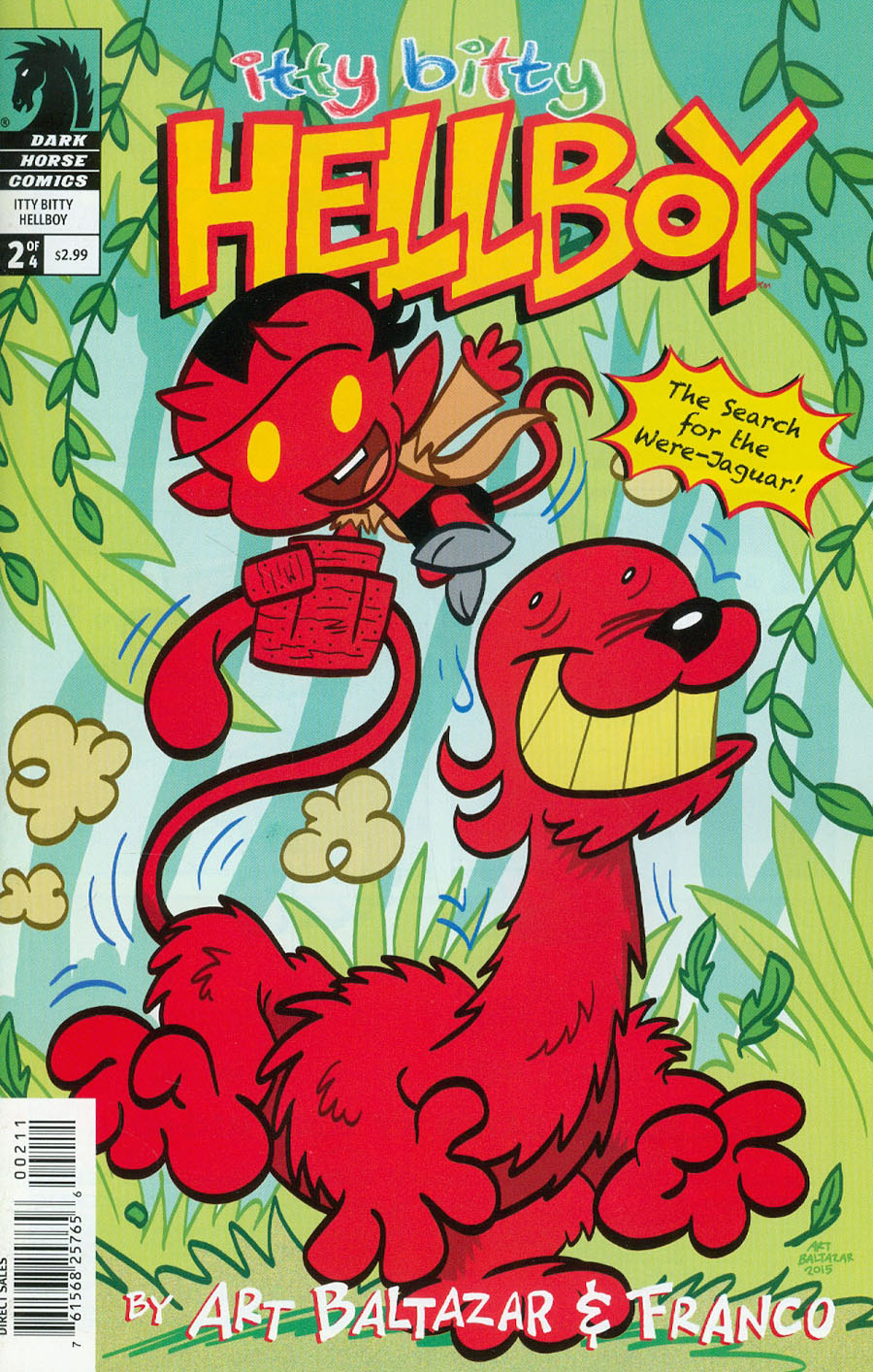 Itty Bitty Hellboy Search For The Were-Jaguar #2