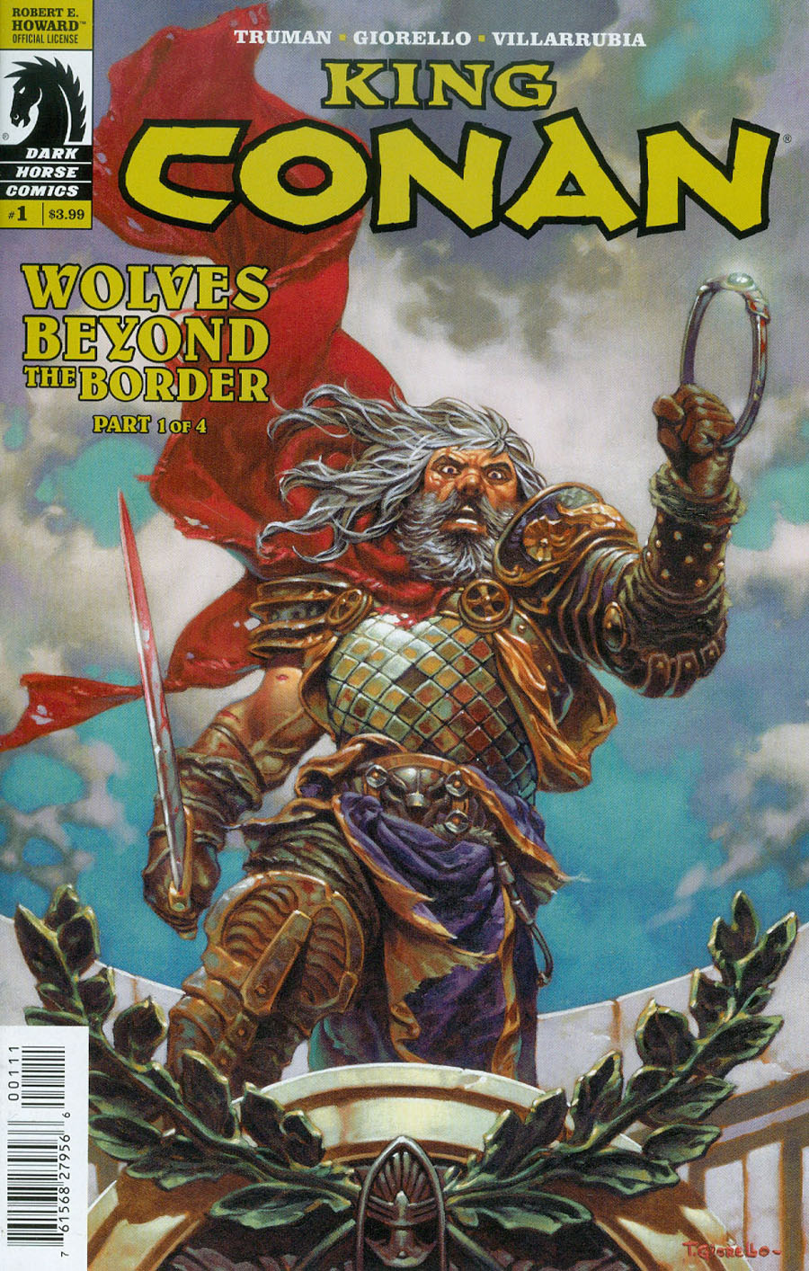 King Conan Wolves Beyond The Border #1