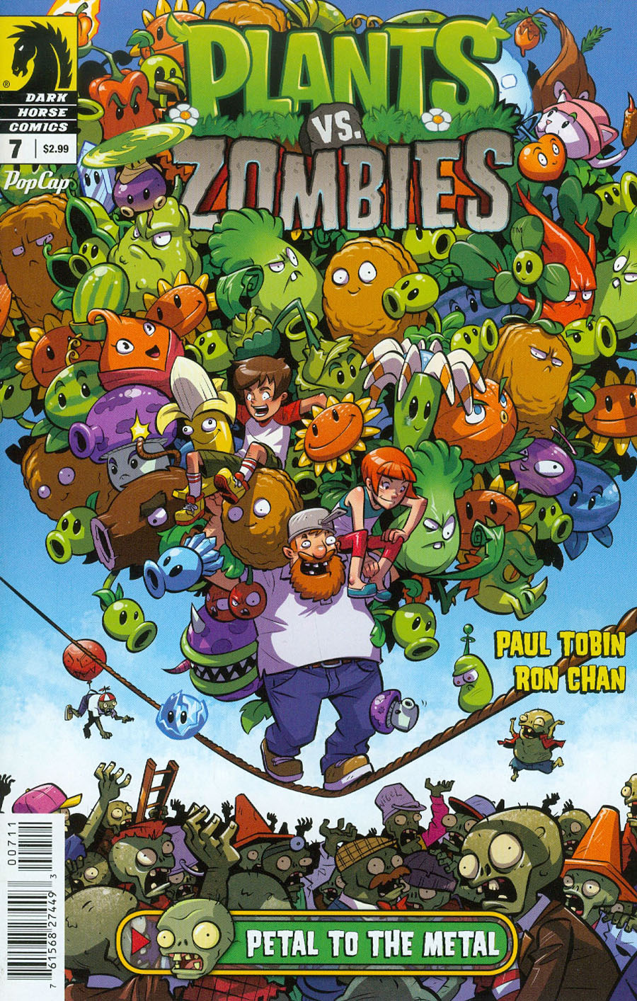 Plants vs Zombies #7 Petal To The Metal