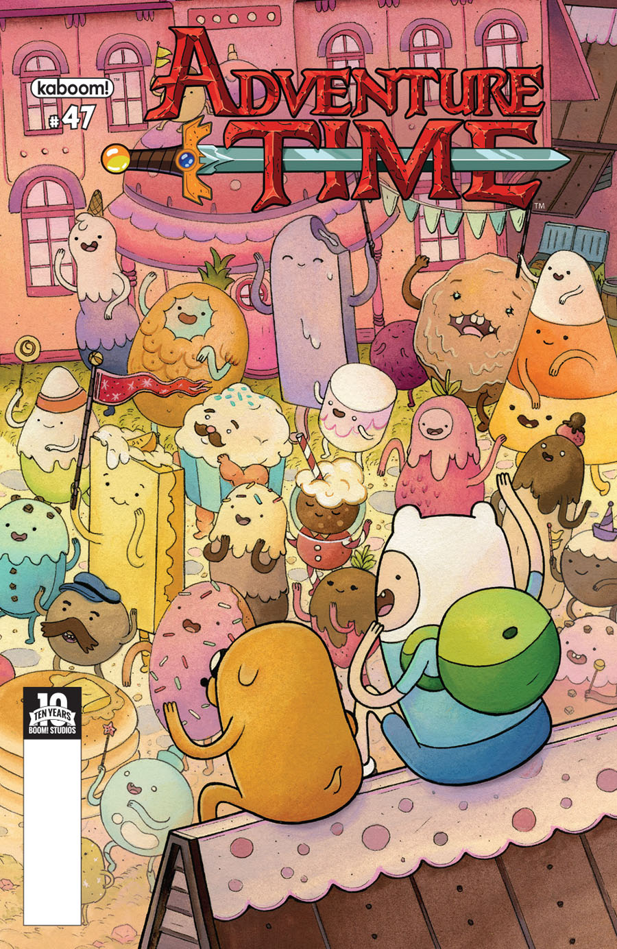 Adventure Time #47 Cover A Regular Nicole Gustafsson Cover