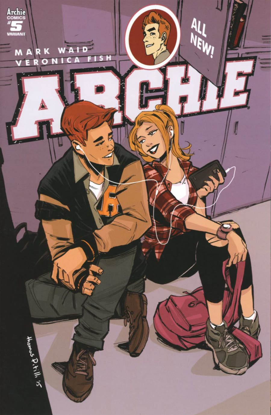 Archie Vol 2 #5 Cover B Variant Thomas Pitilli Cover
