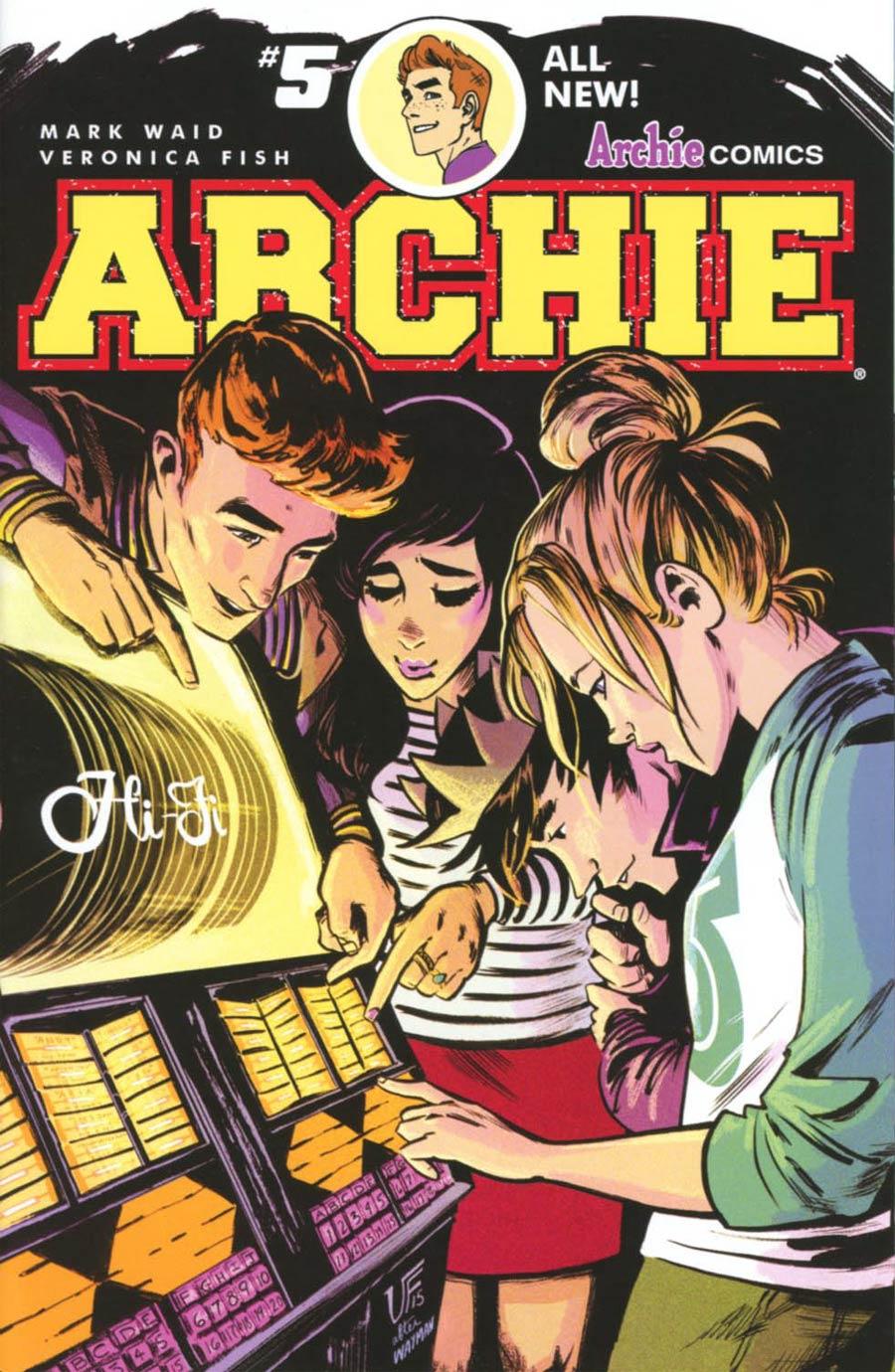 Archie Vol 2 #5 Cover A Regular Veronica Fish Cover