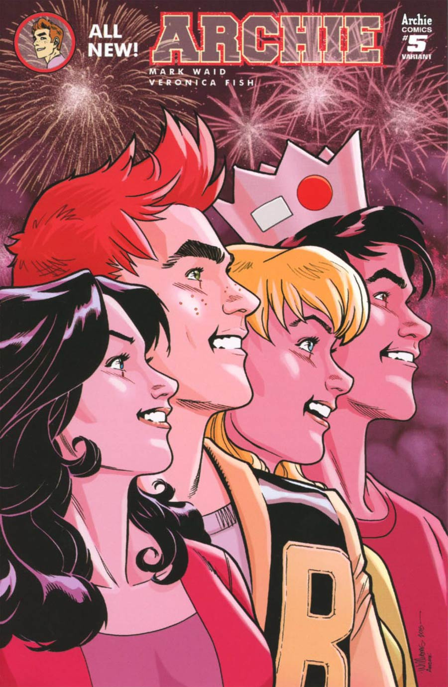 Archie Vol 2 #5 Cover C Variant David Williams Cover