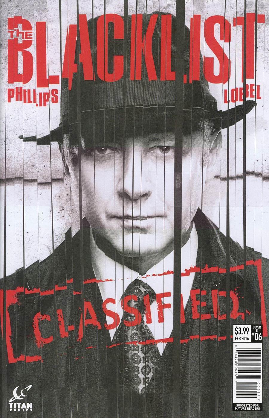 Blacklist #6 Cover B Variant Beni Lobel Subscription Cover