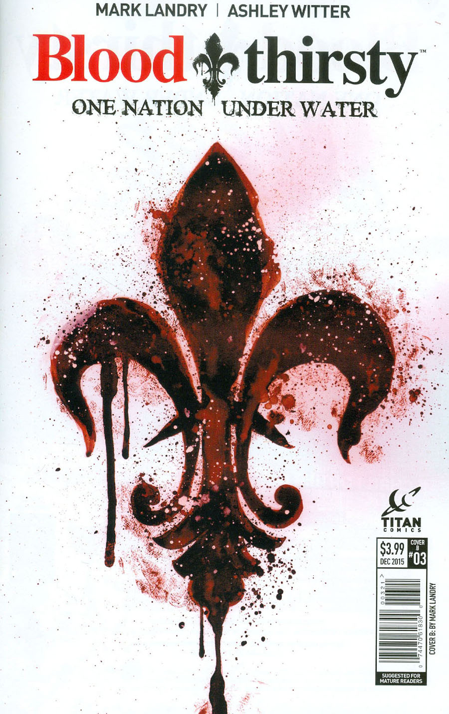 Bloodthirsty One Nation Under Water #3 Cover B Variant Mark Landry Subscription Cover