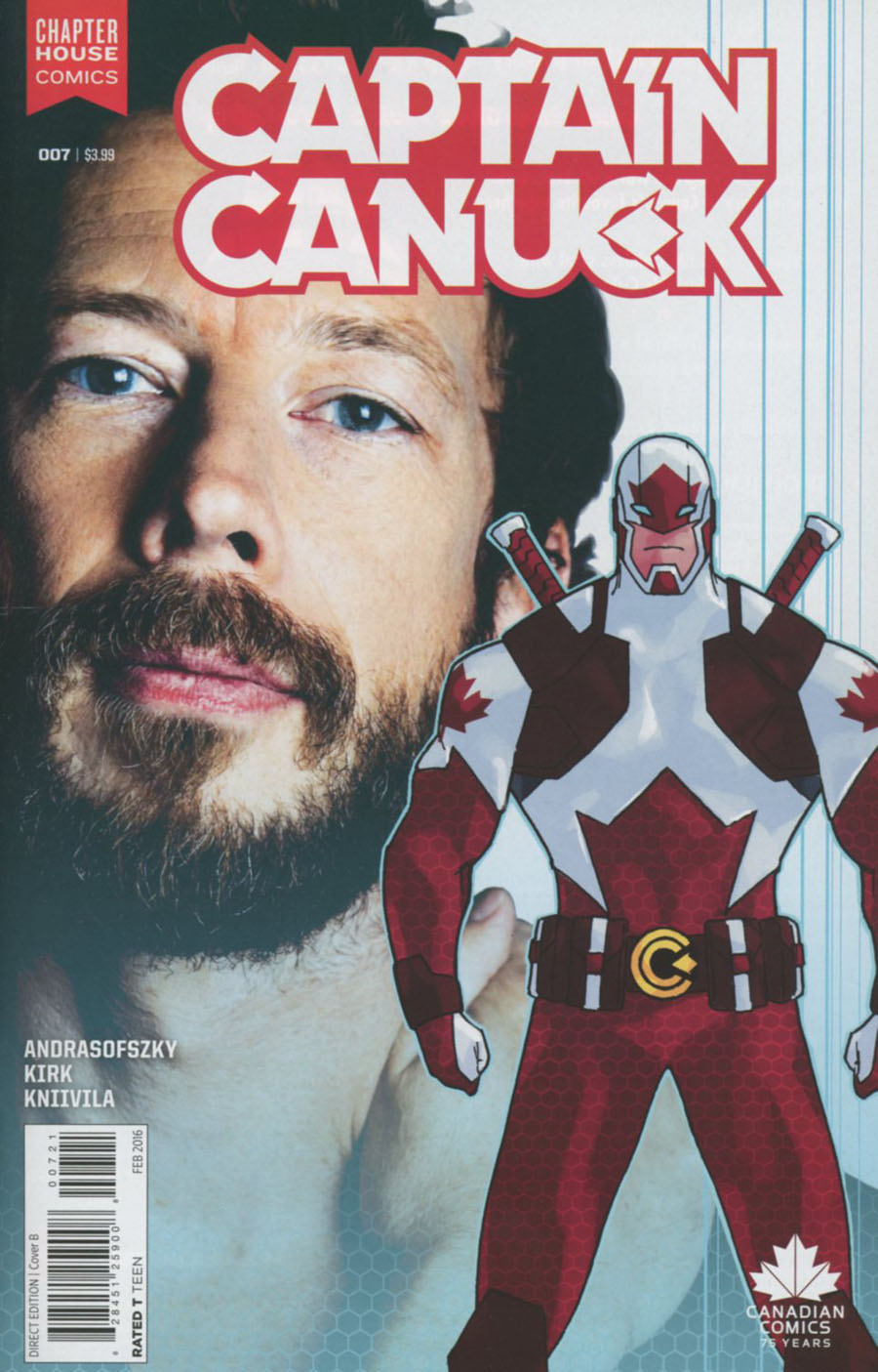 Captain Canuck Vol 2 #7 Cover B Variant Photo Cover