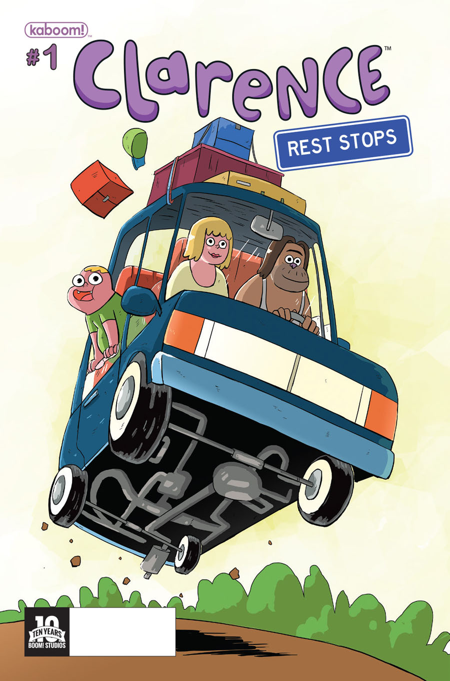 Clarence Rest Stops #1 Cover A Regular Scott Maynard Cover