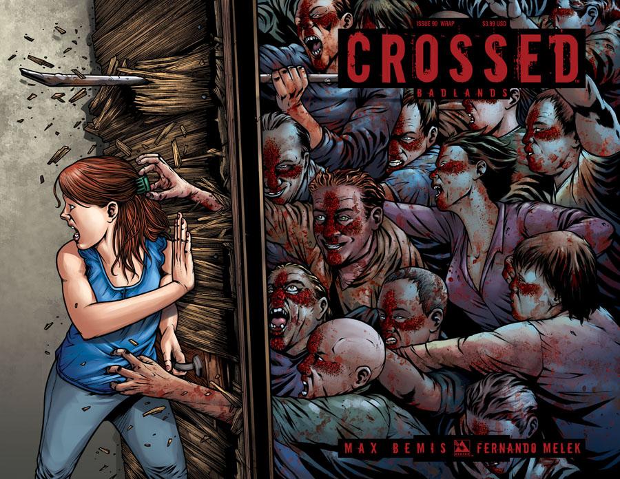 Crossed Badlands #90 Cover C Wraparound Cover