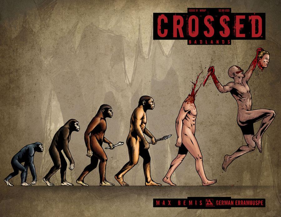 Crossed Badlands #91 Cover C Wraparound Cover