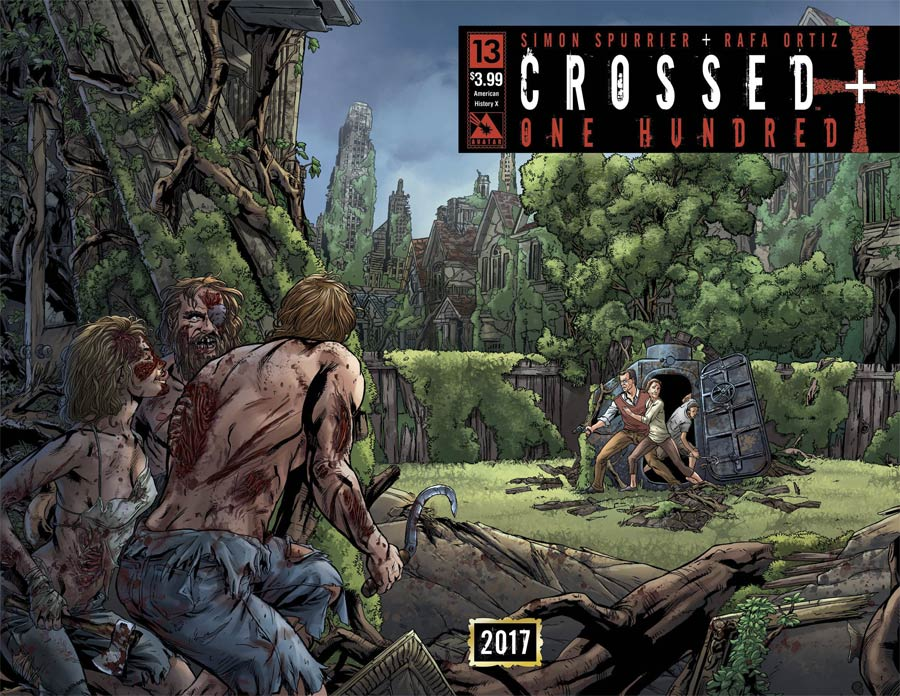 Crossed Plus 100 #13 Cover B American History X Wraparound Cover