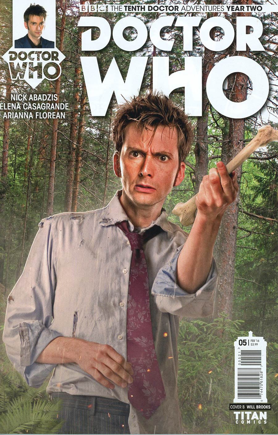 Doctor Who 10th Doctor Year Two #5 Cover B Variant Photo Subscription Cover